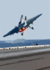 Hornet Launches From One Of Four Steam Powered Catapults On The Ship S Flight Deck Clip Art