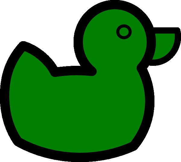 Green Duck Clip Art At Clker Com Vector Clip Art Online
