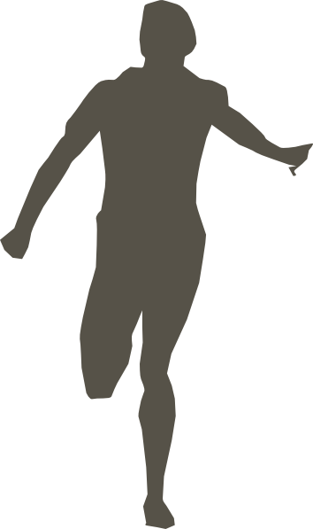 Runner 5 Clip Art at Clker.com