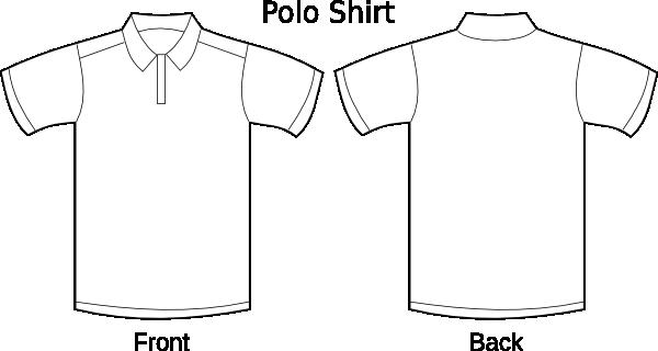 polo t-shirt temp clip art at clker com