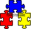 Puzzle Pieces Connected Clip Art