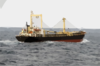 North Korean Cargo Vessel, So San, Shown Just Prior To Being Stopped And Boarded During Maritime Interception Operations (mio), Conducted By Two Spanish Navy Ships Clip Art