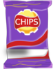 Chips Packet Clip Art