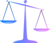 Scales Of Justice 2 Clip Art