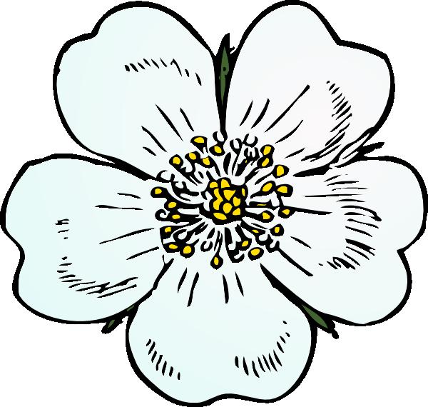White Rose Clip Art at Clker.com - vector clip art online, royalty free & public domain