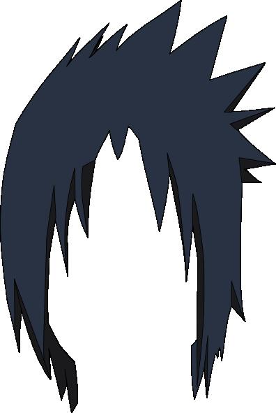 Sasuke Hair Lol Clip Art At Clker Com Vector Clip Art