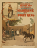 Madeline Of Fort Reno The Sensation Of The 19th Century, Long Bro S, Pawnee Bill And May Lillie S Great Western Military Romantic Play.   Clip Art