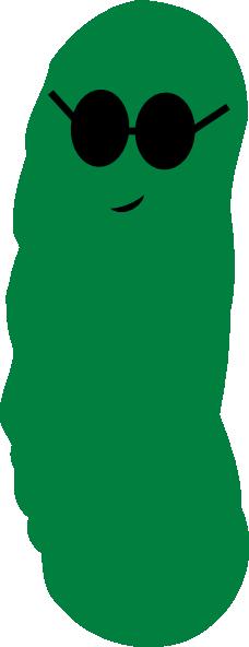 Pickle Cool2 Clip Art at Clker.com - vector clip art ...