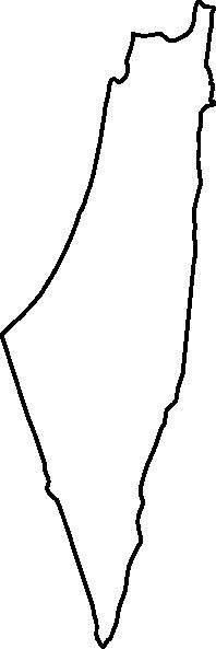 blank palestinian map clip art at clker com