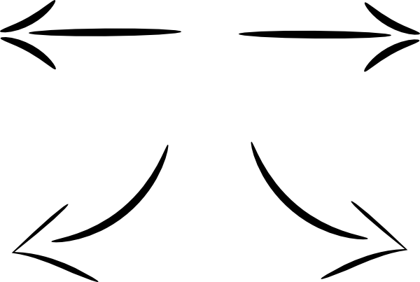 Line Art Arrow : Black arrows clip art at clker vector