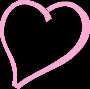 Single Pink Heart Clip Art at Clker.com - vector clip art ...
