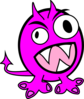 Pink Monster Clip Art