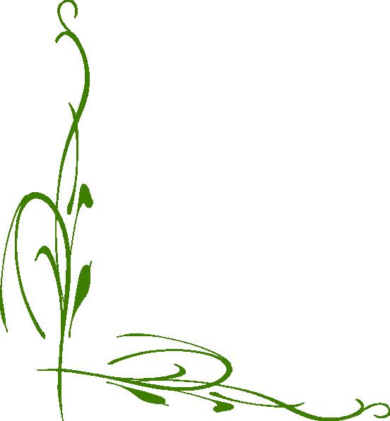 Vine Designs Art : Green vine clip art at clker vector online