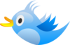Blue Tweet Bird Clip Art