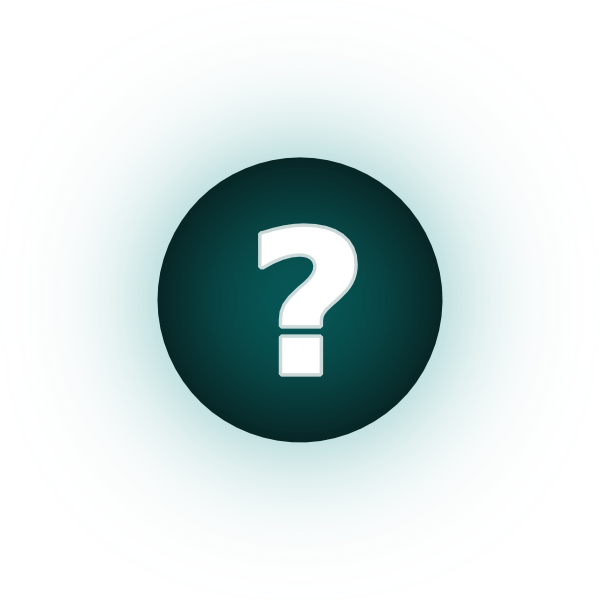 White Question Mark Teal Background Clip Art At Clker Com