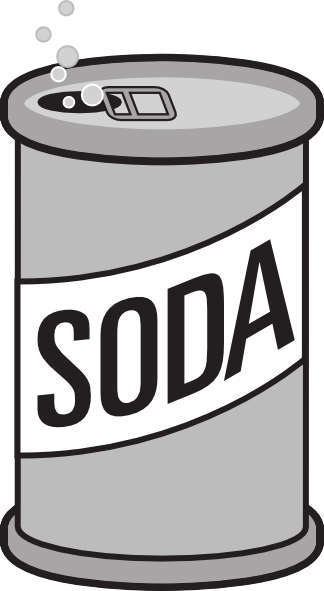 Soda Can Clip Art At Clker