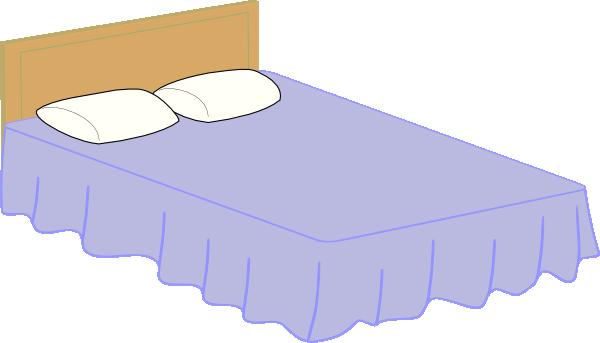 Bed 2 Clip Art At Clker Com Vector Clip Art Online