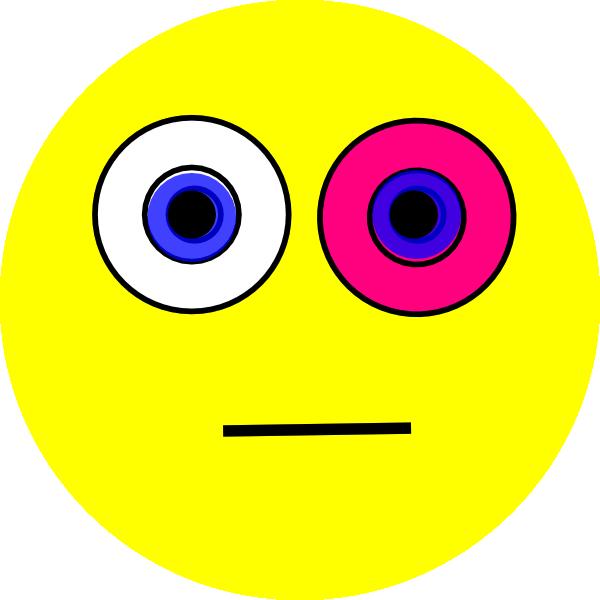 Pink Eye Clip Art At Clker Com Vector Clip Art Online