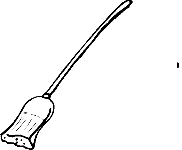 broom  free coloring pages