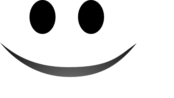 Line Drawing Smiling Face : Smile clip art at clker vector online