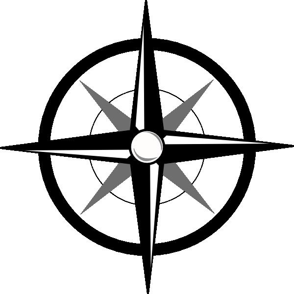 Simple Compass Clip Art at Clker.com - vector clip art ...