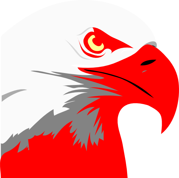 Red Eagle Clip Art At Clker.com