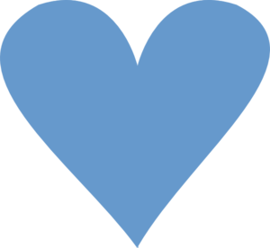 Blue Heart Clip Art at Clker.com - vector clip art online ...