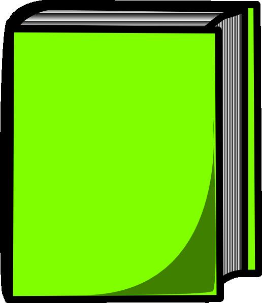Green Book Clip Art At Clker Com Vector Clip Art Online