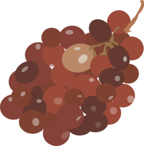 Red Grapes Clip Art