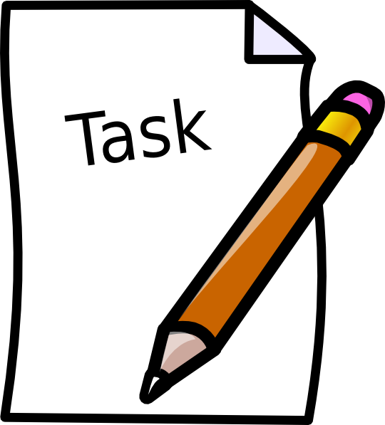 Task Clip Art at Clker.com - vector clip art online, royalty free & public  domain