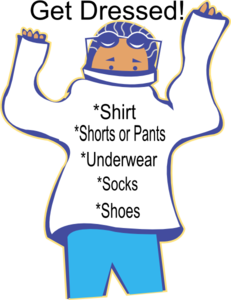 chore get dressed clip art at clker com vector clip art get dressed clipart free get dressed clip art free