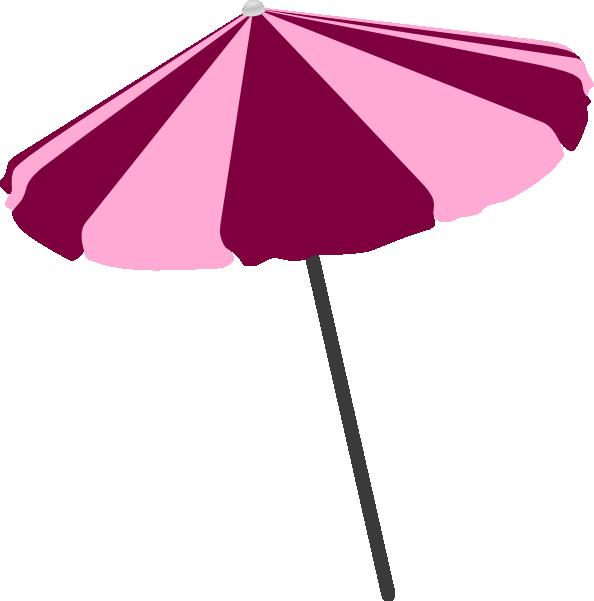 Beach Umbrella Clip Art at Clker.com - vector clip art ...