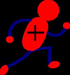positive charge clip art at clkercom vector clip art