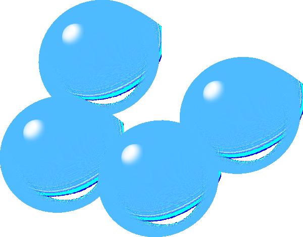 Blue Bubbles Clip Art At Clker Com Vector Clip Art