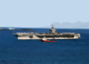 Uss Harry S. Truman (cvn 75) Arrives In Souda Bay For A New Year S Holiday Port Visit. Clip Art