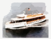 The Former Presidential Yacht Uss Sequoia (ag 23) Travels Down The Potomac River Near Washington D.c. Clip Art