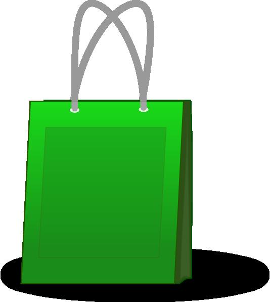 Green Shopping Bag Clip Art at Clker.com - vector clip art ...