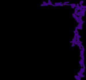 vine border purple clip art at clker com vector clip art vine vector image vine vector border