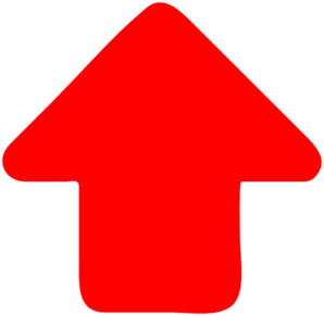 Red-arrow-up Clip Art