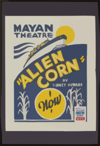 Alien Corn  By Sidney Howard Clip Art