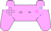 Pink Ps3 Remote Clip Art
