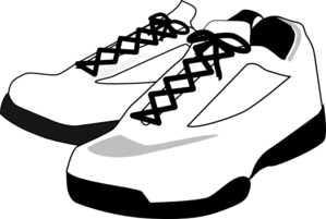 Running, Shoes Clip Art