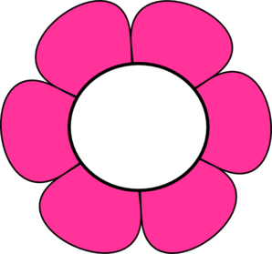 Pink And White Flower Clip Art at Clker.com - vector clip ...