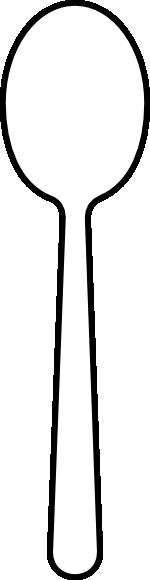 spoon clip art at clker com vector clip art online spoon clip art black and white spoon clip art free