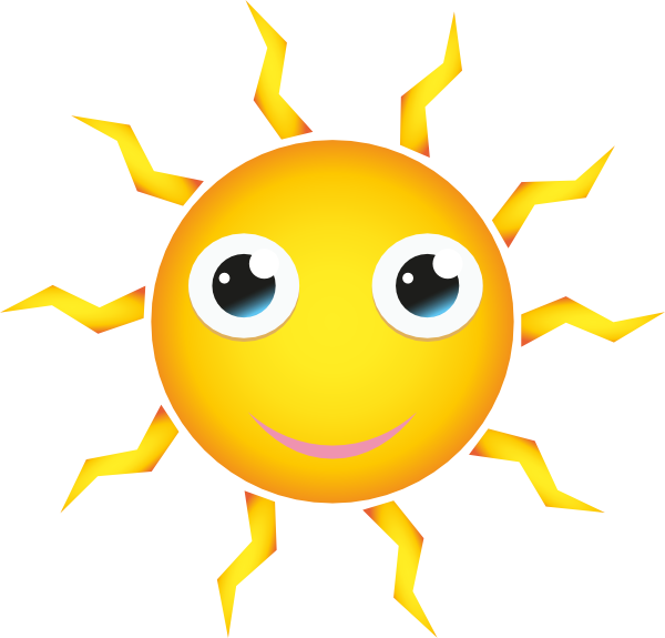 sun cartoon clip art at clker com vector clip art online umbrella vector image free umbrella vector art