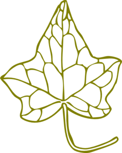 Ivy Leave Clip Art