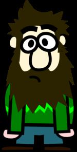 Fat Bald Guy >> Man With Beard Cartoon Clip Art at Clker.com - vector clip art online, royalty free & public domain