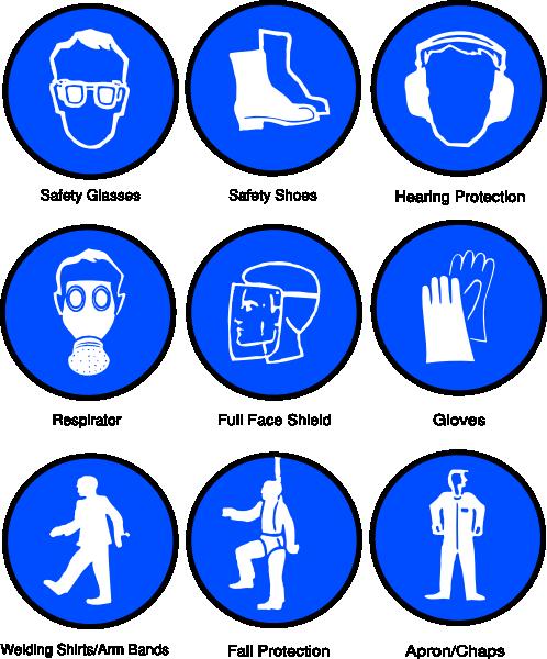 Ppe Symbols Clip Art At Clker Com Vector Clip Art Online