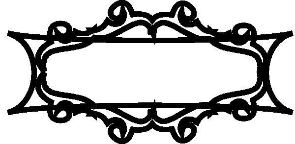 Black Rectangle Frame Clip Art at Clker.com - vector clip ...