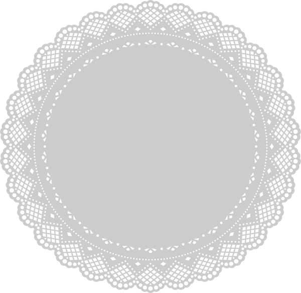 doily clip art at clker com vector clip art online  royalty free   public domain Circle Frame Border Clip Art Circle Frame Border Clip Art